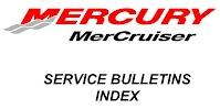 Mercruiser Service Bulletins